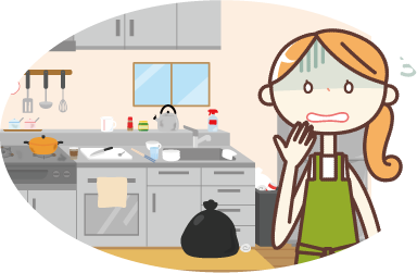 たっぷり収納と家事効率化動線