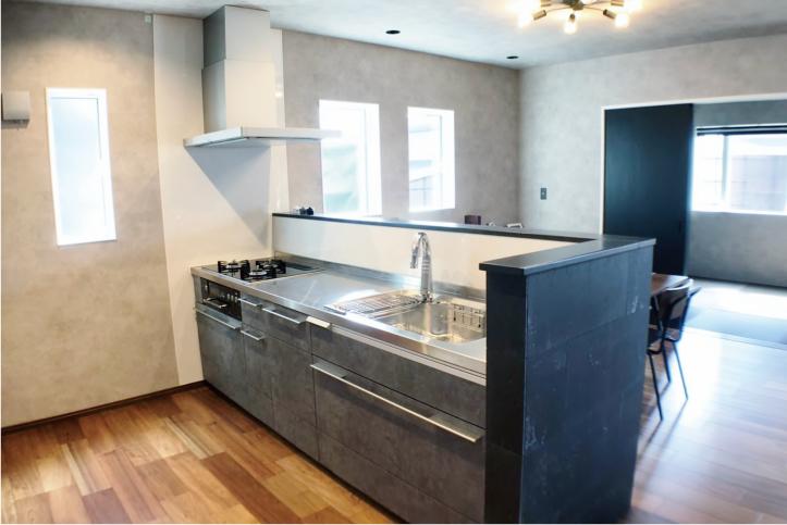 ゆとりのキッチン空間