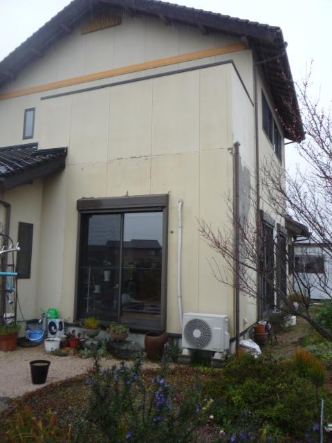 バルコニー防水工事・外壁一部張替え工事