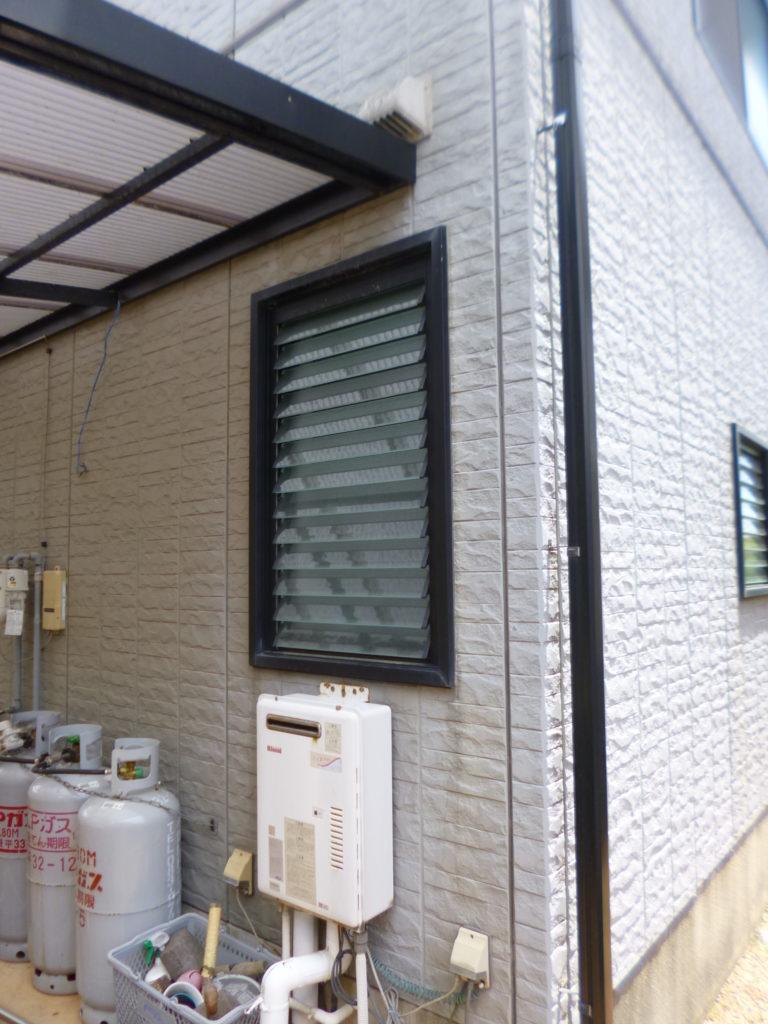 外構工事(駐車場)・外壁工事・差し掛け工事